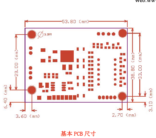 用途: DMX-CC2530 模块以无线的方式传输标准的DMX512 数据,也可传输灯具与灯具间的联机数据。此模块 彻底解决了灯光控制台与灯,灯与灯之间数据的无线传输,完全去掉长期以来所依赖的成本高且施工烦琐 的双绞线;同时也比常规的2.4G 无线模块技术指标上有很大的改进。在数据的传输过程中做到无时延, 数据实时可靠!该产品采用2.